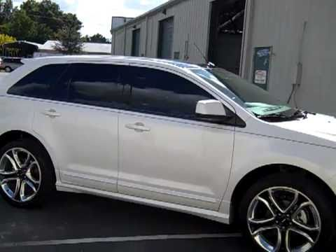 Flying Window Tinters Tinted 2011 Ford Edge With Ceramic