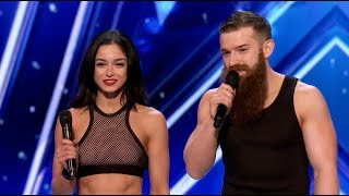 America's Got Talent 2017 Billy & Emily England Sibling Roller