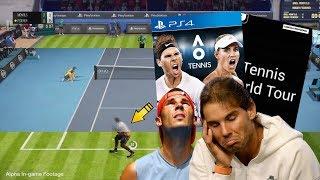 TENNIS WORLD TOUR y AO TENNIS PINTAN REGULAR