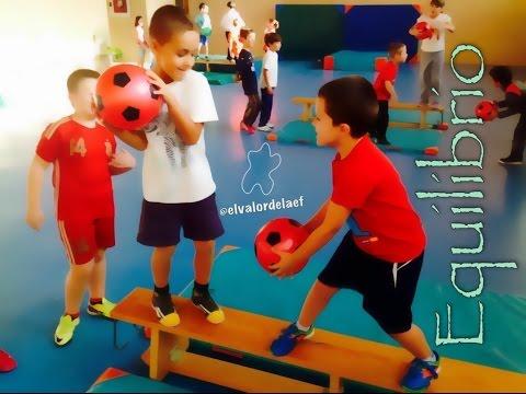 Equilibrio en educación física