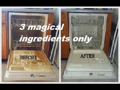 Lovely Dishwasher Cleaning Tips , DIY Dishwasher Cleaner, 3 Ingredient Dishwasher  Cleaning