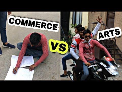 COMMERCE VS ARTS STUDENTS | DilliKaLadka