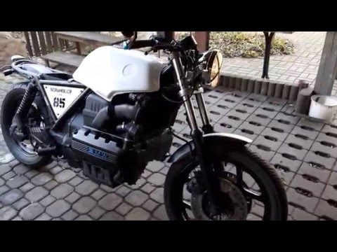 BMW K100 SCRAMBLER without exhaust
