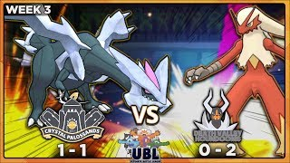 FIST OF FURY!! | Crystal Palossands vs Death Valley Houndooms [UBL S2W3] | Pokemon USUM Wi-Fi Battle