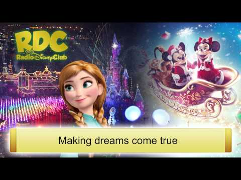 Disney Dreams! of Christmas 'Make A Wish' Lyrics (2015)