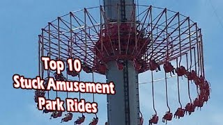 top 10 people getting stuck on amusement park rides