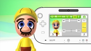 Mii Maker How to make Mario Maker Mii (Mario Bros) Free Tutorial Walkthrough Nintendo