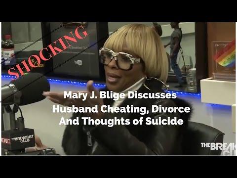 Mary J  Blige Reveals Shocking Details Regarding Her Divorce, Kendu's Cheating And Suicide