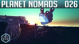 PLANET NOMADS #026 | Uranantrieb am Flugzeug  | Gameplay German Deutsch thumbnail