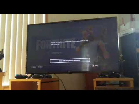 How To Play Fortnite Without A PSN Acount (JOKE!)