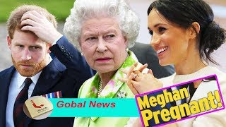 The Queen was concerned with signs that Meghan Markle was pregnant with a ritual expert..Why?