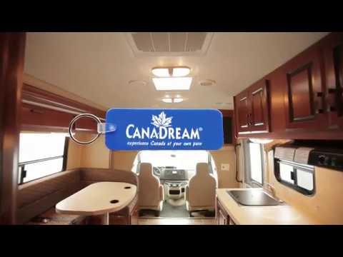 Canadream Video Demonstration Of Super Van Camper SVC