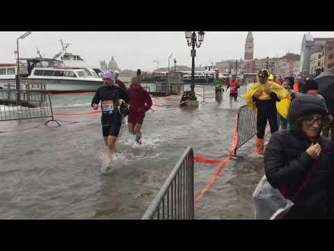 2018 Venice Marathon flooding