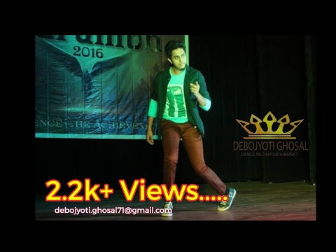 Contemporary & lyrical hip-hop | Itni si baat hai | GEORGE COLLEGE | MR. FRESHER 2016