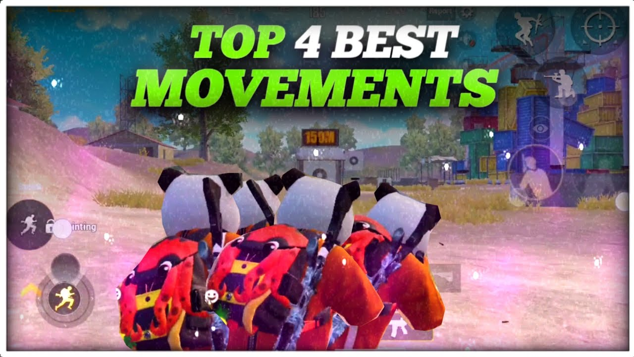 Top 4 Best Movements For Pubg Mobile | Which One For You ?