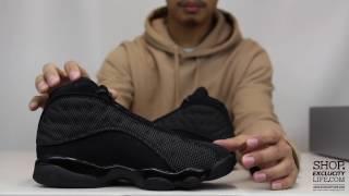 "Air Jordan 13 Retro ""Black Cat"" Unboxing Video at Exclucity"