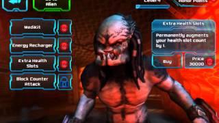 Let's Play iOS: AVP: Evolution (Store - Gear Up - Alien & Predator Character Customization #1)