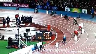 Men's 4x100m Relay Final (Usain Bolt) | Commonwealth Games 2014