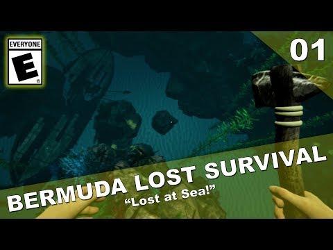 LOST AT SEA | Bermuda - Lost Survival | Part 1