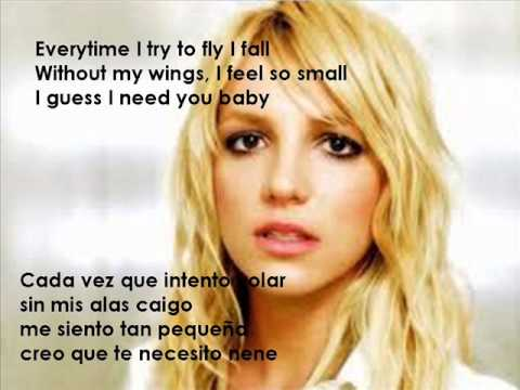 Everytime Britney Spears With Lyrics - YouTube