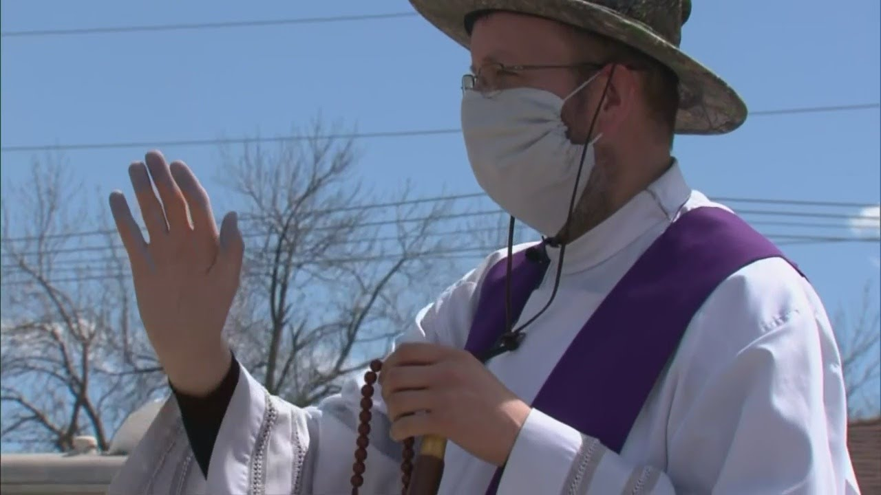 Priest In Fort Lupton Gives Special Blessing During Easter Weekend