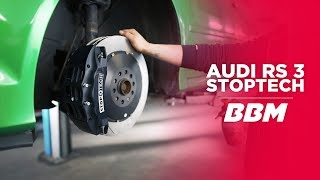 Audi RS3 8P StopTech Bremsanlage Update by BBM