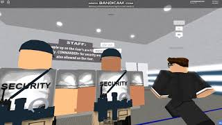 Being A Security Guard In EUU-Role-Play Drill-Robux Giveaway!