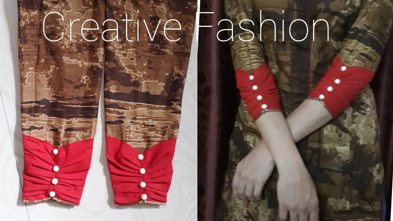 Image result for Designer cuff sleeve pattern tutorial