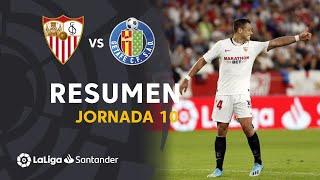 Resumen de Sevilla FC vs Getafe CF (2-0)