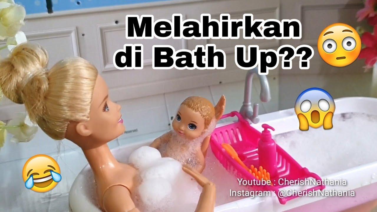 Barbie Hamil Melahirkan Bermain Busa Sabun Video Cerita Dongeng Anak Barbie Cantik Bahasa Indonesia Youtube