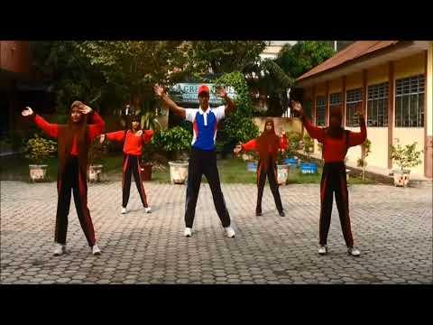 Senam Gemu Fa Mi Re + Pinguin dance (Senam terbaru SMP Dharma Pancasila Medan)