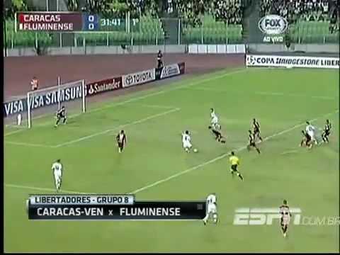 Caracas 0 - 1 Fluminense Copa Libertadores 2013