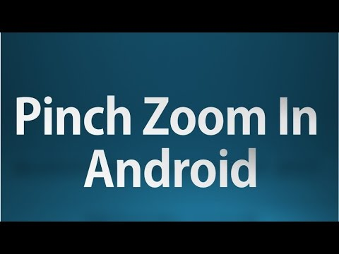Android tutorial for beginners - 93 - Pinch Zoom with ImageView