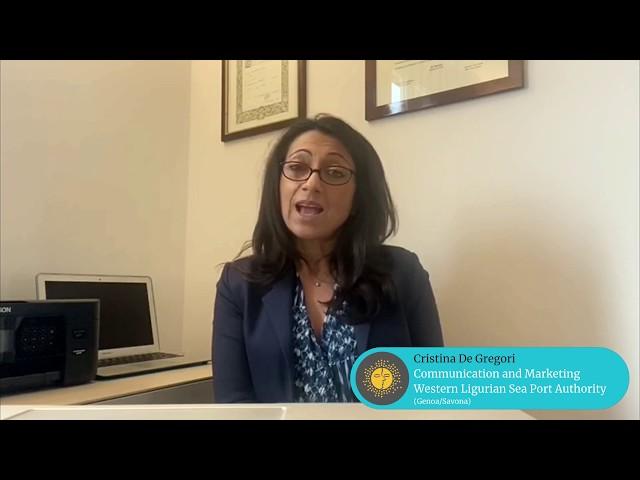 MedCruise member Cristina De Gregori, Comm. and Marketing at Western Ligurian Sea Port Authority