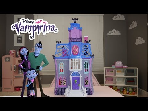 Vampirina Scare B Amp B Hauntley S House Tour And Review Up