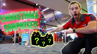 Airport Christmas Surprise (CRAZY!!) | THE LIFE OF A FLIGHT ATTENDANT Ep. 29 | VLOGMAS DAY 21