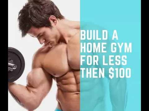 build a home gym for less than $100 I fitnessmotivation4u2