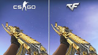 CrossFire Weapons in CS:GO [Comparison]