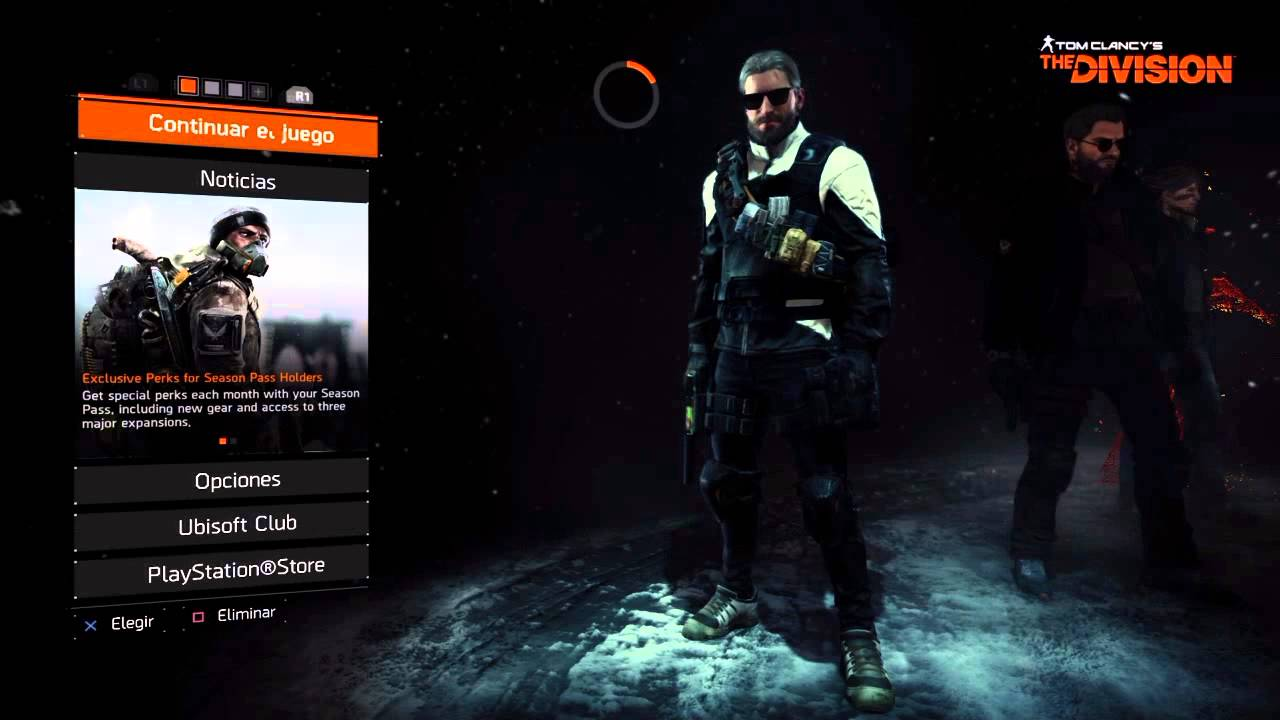 The Division High-End items, Mod missing when i log in to the game
