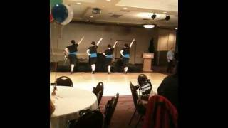 Merengue performance by Saskatoon Salsa Dance Co.