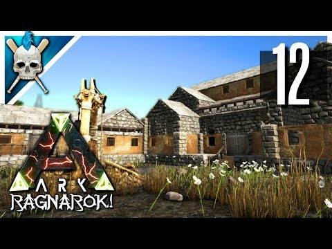 Ark: Ragnarok   New Base Build U0026 Workshop Design!   Ark Iron Mine