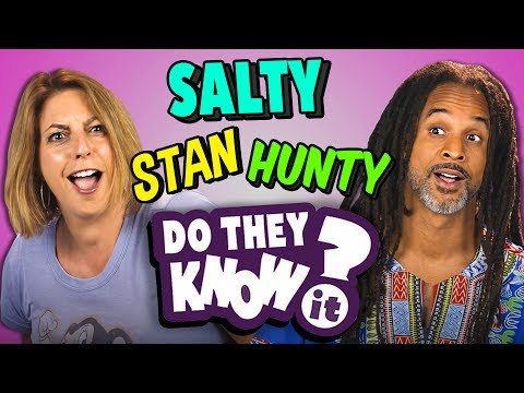 DO PARENTS KNOW TEEN SLANG? (REACT: Do They Know It?)