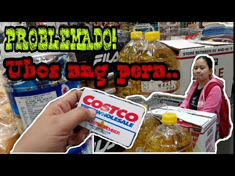 COSTCO in Taipei Taiwan.. Buying some goods for our BALIKBAYAN BOX..