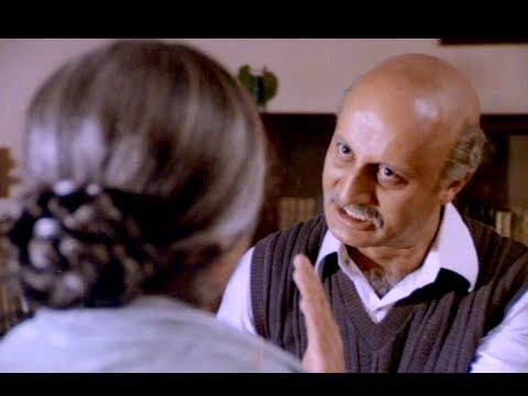 Anupam Kher Shouts At Rohini Hattangadi For Being Superstitious - Hindi Movie Scene - Saaransh