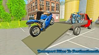 Bike Transport Truck Driver (by Kooky Games) Android Gameplay [HD]