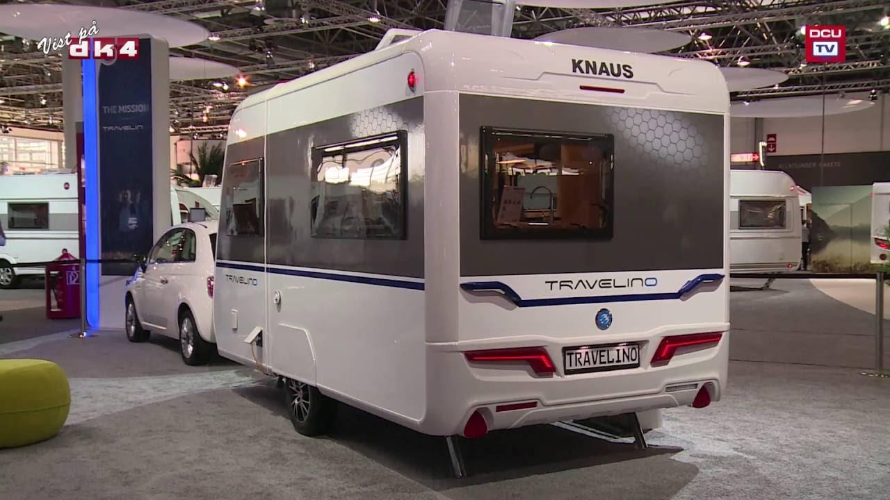 tv campingnyhed knaus travelino campingvogn 2017 model. Black Bedroom Furniture Sets. Home Design Ideas