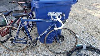 Found Racing Bike in the Trash
