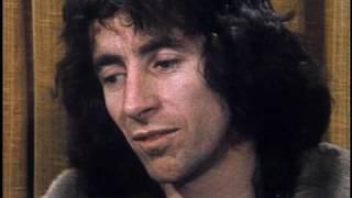 AC/DC's Bon Scott talking about Rush & Kiss