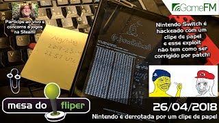 Nintendo é derrotada por um clipe de papel - 26/04/2018 - Mesa do Fliper