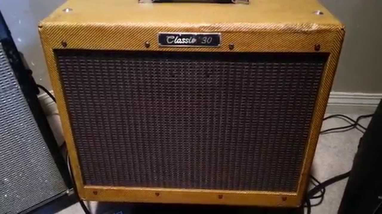 peavey classic 30 shellac tweed tube amp youtube. Black Bedroom Furniture Sets. Home Design Ideas